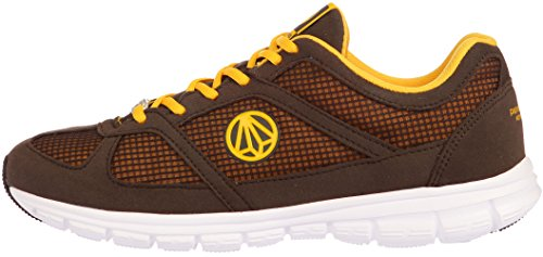 Turnschuhe Brown Yellow leichtes Unisex Mesh Paperplanes Super Walking 1201 1203 q6vxYC