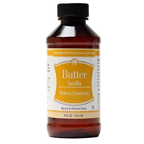 LorAnn Oils Emulsion, Butter Vanilla, 4 Ounce