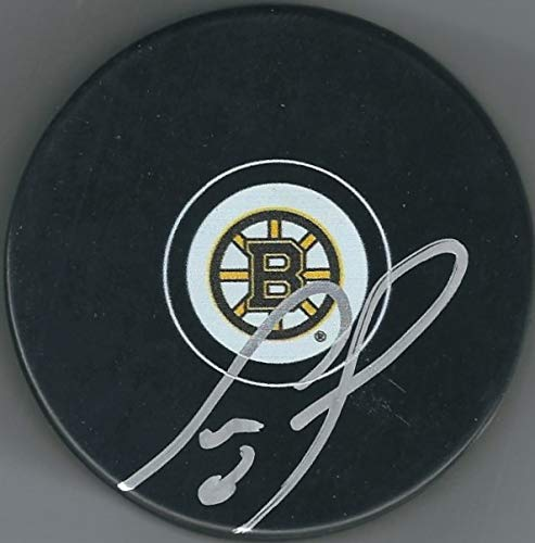Autographed Cam Neely Boston Bruins Hockey Puck