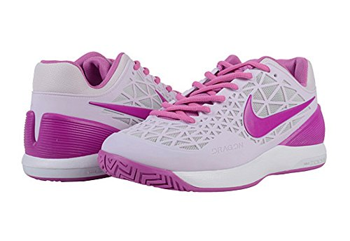Nike-Zoom-Cage-2-Womens-Tennis-Shoes-Bleached-LilacLight-Size-9