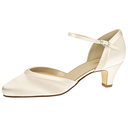 Rainbow club brautschuhe letty ivory bliss (satin)