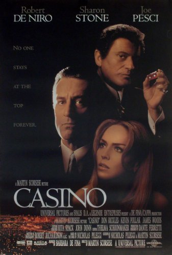 Casino Movie Poster Robert De Niro