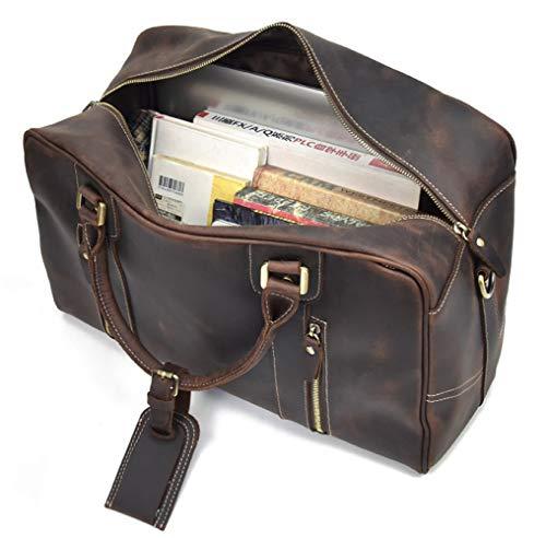 Bandoulière Messager Cuir Sac Main D'ordinateur D'affaires Business Pangoie sac Brown Portable 5TwnqCSWzx