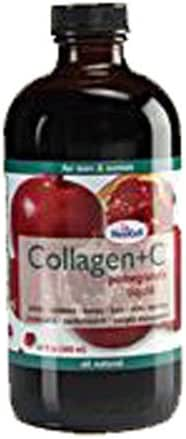 Neocell Laboratories Collagen +C Pomegranate Liquid, Pack of 2 - 16 oz (32 oz Total)