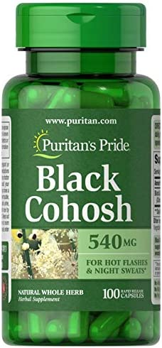 Puritan s Pride Black Cohosh 540 mg-100 Capsules