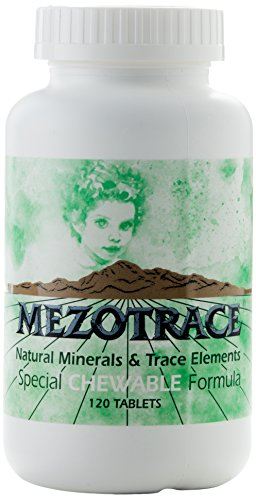 - Mezotrace 1300 Natural Minerals & Trace Elements Special Chewable Formula 120 Tablets