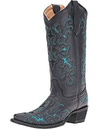 Corral Boots Women's L5150 Black/Blue Boot