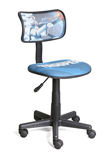[Disney Star Wars Storm Troopers Swivel Mesh Task Chair] (Stormtrooper Disney)