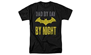 Popfunk Batman Dad by Day T Shirt for Father's Day & Stickers