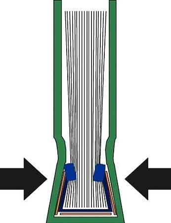 Azul Lomo de 7.0 mm 73910035 Leitz Tapa r/ígida impressBIND