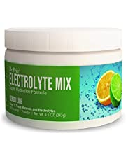 Electrolyte Mix Supplement Powder, 90 Servings, 72 Trace Minerals, Potassium, Sodium, Electrolyte Replacement Keto Drink | Lemon-Lime Flavor | Dr. Price's Vitamins, No Sugar, Vegan, Non-GMO