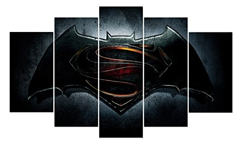 LMPTARTTM-60x36-inches-print-Batman-V-Superman-dawn-of-justice-film-Movie-poster-picture-kids-children-wall-decor-art-picture-print-Painting-on-canvas-art-print-Framed-Painting-ready-to-hang-wall