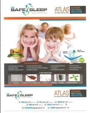 Allerease Maximum Allergy And Bedbug Waterproof Zippered