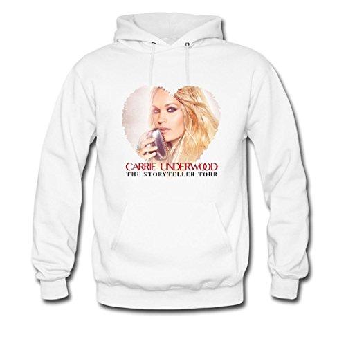 FZ Carrie Underwood The Storyteller Tour Poster Hoody Hooded Sweatshirt For Men 2016 XXL ()