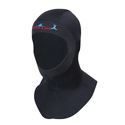 A Point Wetsuits Premium Neoprene 3mm Vented Bib Hood - Wetsuit Bib