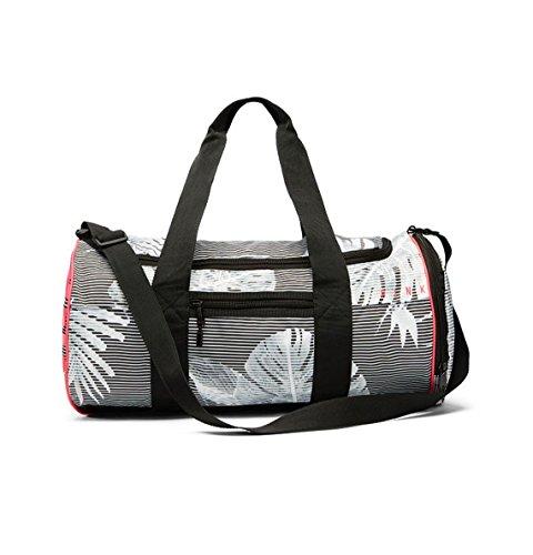 Victorias Secret PINK Duffle Gym Bag Palm Print Black White by Victoria's Secret