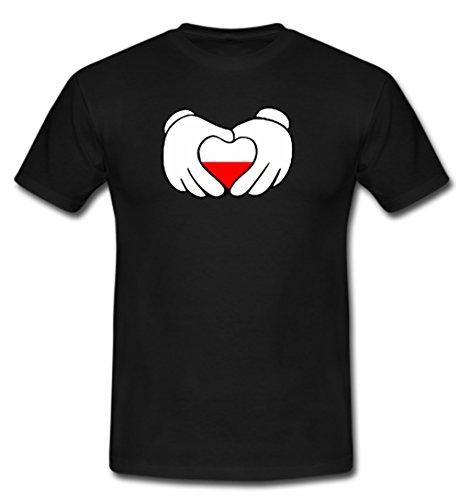 Trikot Polen Polska Poland Fußball Fan T Shirt Europameisterschaft Weltmeisterschaft