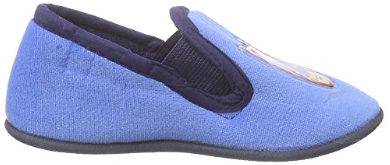 Batman Boys' ADANA Warm lined low house shoes Blue Size: 4 Child UK
