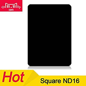 ARBUYSHOP 11.11 ZOMEI ventas de densidad neutra ND16 de color gris completa Filtro cuadrado para Cokin Z-PRO Lee alta tecnología