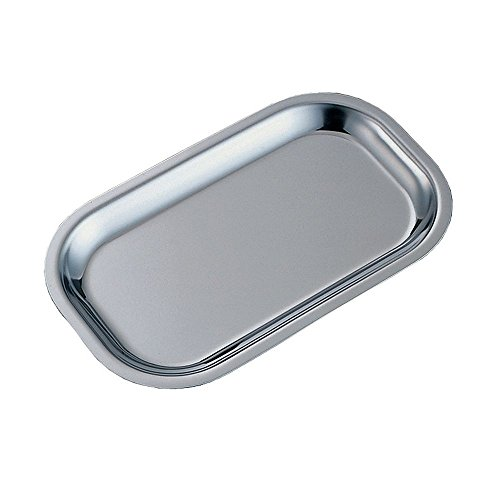 Service Ideas OT11SS Thermo Plate Insert, Brushed Stainless Steel, 11