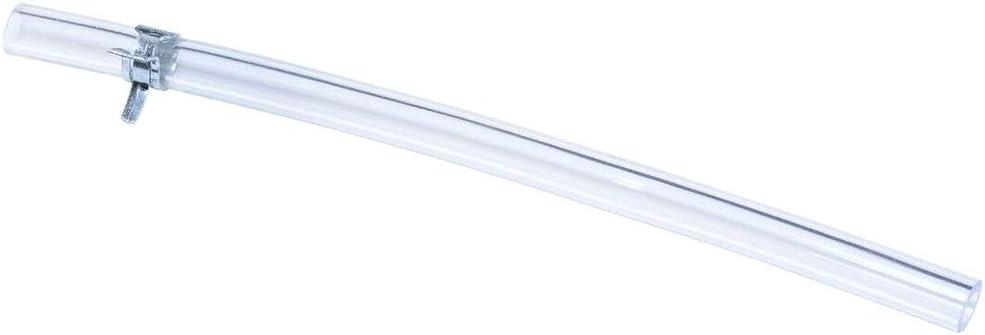Tubo di spurgo per Freno e Frizione valvola unidirezionale Trasparente HELLOGIRL