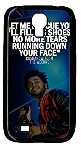 iCustomonline Case for Samsung galaxy S4 PC, The Weeknd Ultimate Protection Case for Samsung galaxy S4 PC