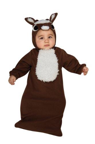 (Rubie's Costume Baby's Reindeer Baby Bunting, Multicolor,)