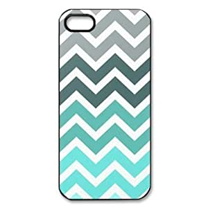 Fantasyhome (TM) Funny Tiffany Fade Chevron Pattern Apple Iphone 5c Best Durable Case + Free Wristband Accessory