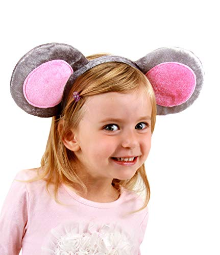 Mouse Ears Costume Headband and Tail Kit for Women by elope]()
