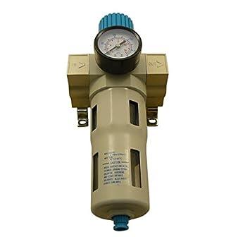 Pro separador de agua ölabscheider Impresión Compresor De Aire 1/4 - 1 pulgadas Filtro regulador filtro de partículas Manómetro 16 bar: Amazon.es: Bricolaje ...