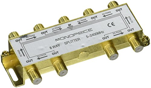 Monoprice PREMIUM Splitter Antenna 110017