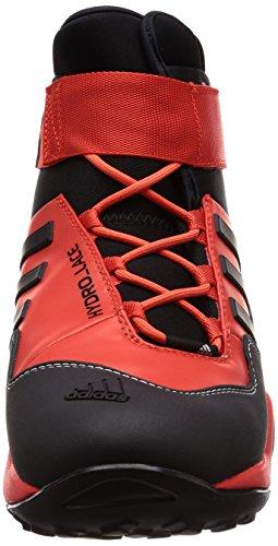 adidas Terrex Hydro_Lace, Scarpe da Arrampicata Alta Uomo Rosso (Hirere/Cblack/Cwhite Hirere/Cblack/Cwhite)