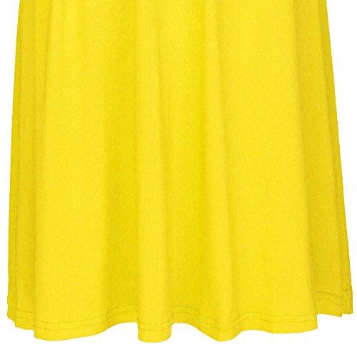 Dama de de Vestidos Rodilla Mangas Fiesta Noche Elegante Amarillo Mujer Vestido Infinity Respaldo Maxi Corto Dresses Sin de Way Cóctel de Multi sin Transformer Coctel Boho Honor de de q1zE1wvUx