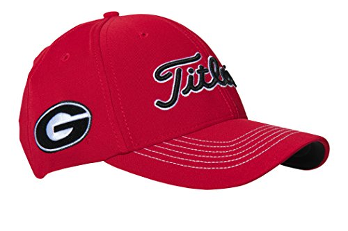 Titleist Georgia Collegiate 2016 Stretch Fit Hat (Medium/Large)