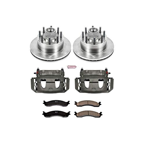 Power Stop KCOE5087 Front Stock Replacement Brake Kit with Calipers