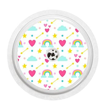Freestyle Libre Sensor Vinyl Sticker Rainbows