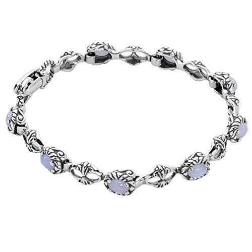 Agate Blue Agate Bracelet - 9