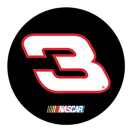 Dale earnhardt sr 3 traditional 4 round vinyl decal auto home nascar racing