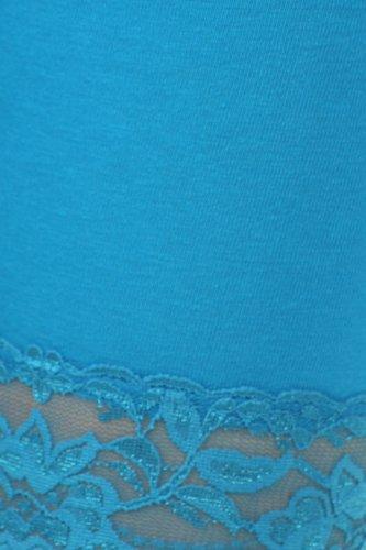 Casual Pantaloncini opaco Basic Turquoise Donna Sakkas Cx8HOw