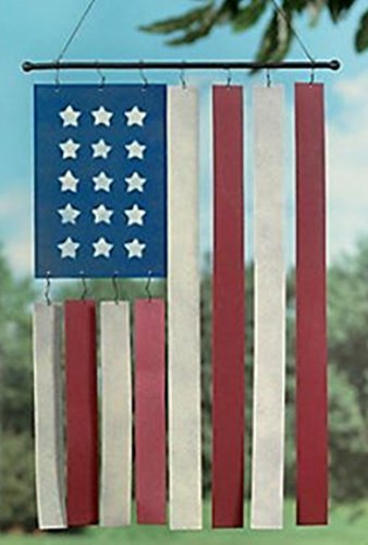 OTC American Flag Wind Chimes product image