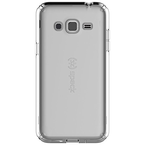 - Speck CandyShell Hybrid Hardshell Case for Samsung Galaxy J3 - Clear (Certified Refurbished)