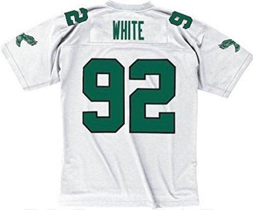 Mitchell & Ness Reggie White 1990 Replica Jersey Philadelphia Eagles White Medium ()