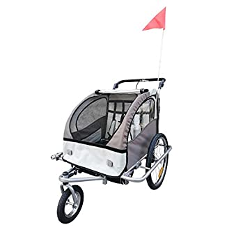 Remolque de bici para llevar niños