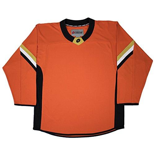Firstar Anaheim Gamewear Hockey Jersey (Orange - Goalie - -