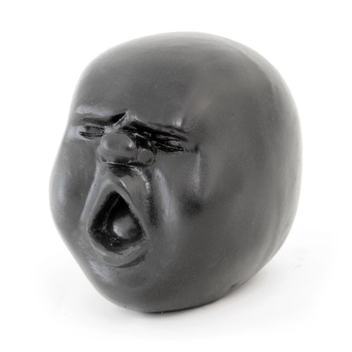 Ganzoo Stress Ball / Kneading Ball for Managing Aggression with Frightened Facial Expression by Ganzoo