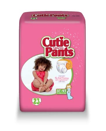 88883100 Toddler Training Pants Cutie Pants Pull On 3T - 4T Disposable Heavy Absorbency