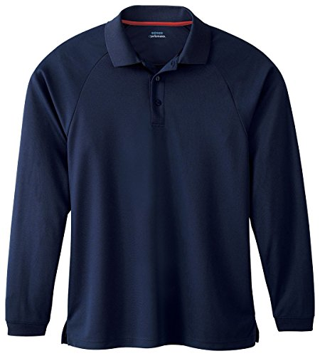 Extreme Mens Long Sleeve Eperformance Piqué Polo (85099) -CLASSIC NAVY -3XL