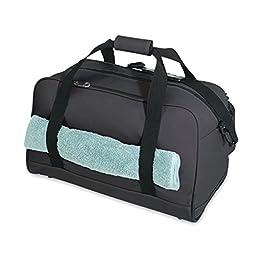 "Duffle Bag, 20"" Marathoner Duffel Bag 600D Denier Travel Sport Carry On Gym Bag."