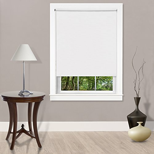 Achim Home Furnishings Cords Free Tear Down Light Filtering Window Shade, 55