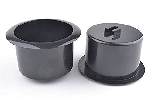 Black Plastic Holder - luzen 2 Pcs Black Plastic Recliner-Handles Replacement Cup Holder Insert for Sofa Boat Rv Couch Recliner Car Truck Poker Table